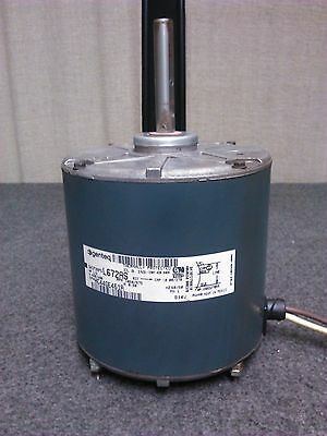 OEM GE Carrier Bryant Payne FAN MOTOR 1/2 HP 5KCP39PGL672AS 460 Volt Condenser