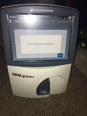 Instrumentation Laboratories Gem Premier 4000 Blood Analyzer