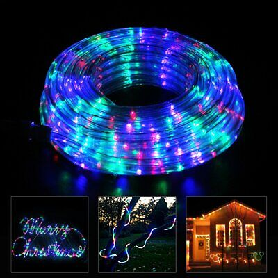 40ft LED Rope Strip Light Multi-color Outdoor/Indoor Changing 110V w/ Remote