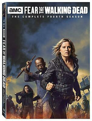 FEAR OF THE WALKING DEAD 4 (2018) Prequel TV Season Series - NEW US Rg1 DVD Set