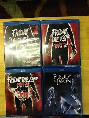 Blu-ray Friday the 13th 4 movie collection