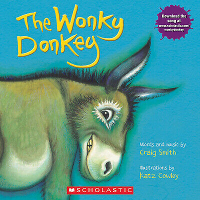 The Wonky Donkey Winky Lanky Honky Tonky by Craig Smith Childrens Book Paperback