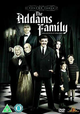 The Addams Family: Season 3 [DVD] [1966] - DVD  LOVG The Cheap Fast Free Post