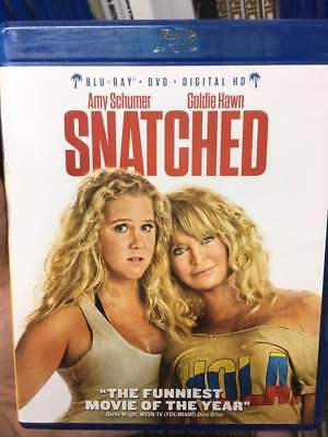 Snatched Blu-Ray No DVD/Digital/Slip Like New FAST FREE Combine Shipping