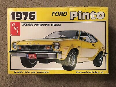 Vintage 1976 AMT Ford Pinto Performance 1:25 Scale Model Kit Rare HTF