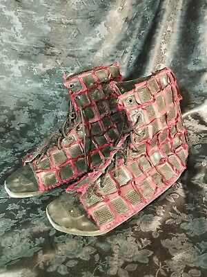 Planet of the apes 2001 screen used movie prop ape armor boots size 11-12 w coa