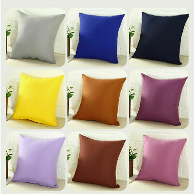 "Pillowcase Party Candy Color Throw Pillow Cover Cushion Case Size 16"" 18"" 20"" 24"