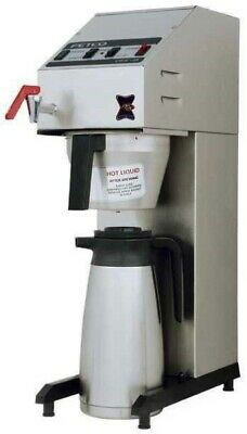 Fetco Millenia CBS-2018 Airpot Commercial Coffee Brewer W/ Hot Water Faucet