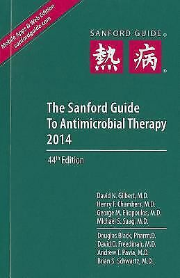 The Sanford Guide to Antimicrobial Therapy  (NoDust)