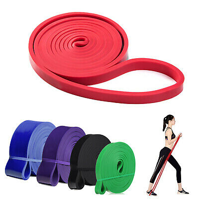 Yoga Bands Pilates Band Resistance Loop Exercise Fitness Workout Bands| Set of 5