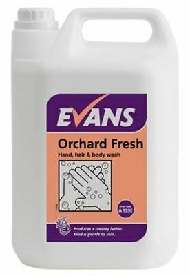 Evans Orchard Fresh - Hand Hair and Body Wash 5 Ltr Bottle