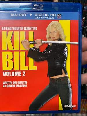 Kill Bill Vol. 2 Blu-Ray No DVD/Digital/Slip Like New FAST FREE Combine SHIPPING