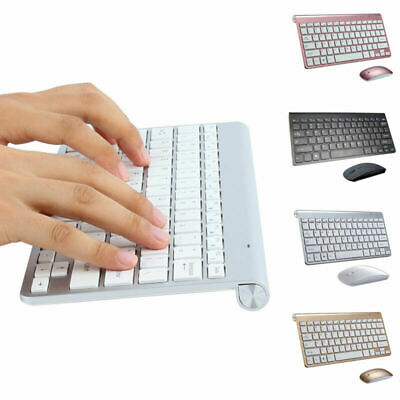 Ultra Slim 2.4G Wireless Keyboard +Mouse COMBO Set For PC LAPTOP Dell HP Lenovo