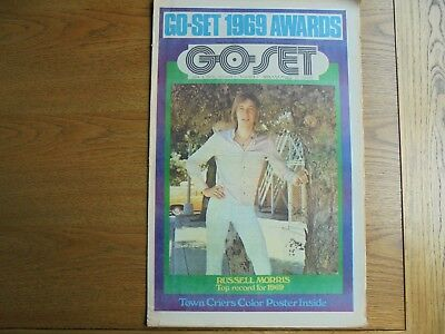 Go - Set Jan 30 1970 Russell Morris cover Town Criers color Poster Vol 5 N 1