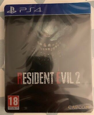 Resident Evil 2 Steelbook Edition PS4 -NEUF-