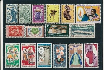D247294 Cameroon Nice selection of MNH stamps