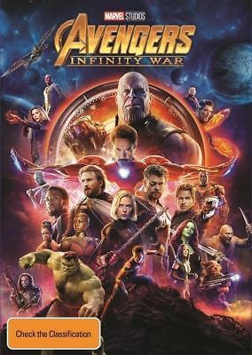 Avengers - Infinity War : NEW DVD