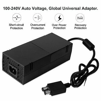 AC Adapter Charger Power Supply Cable Cord for Microsoft Xbox One Console NEW SW