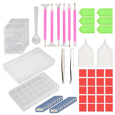 134 Pcs Diamond Painting Tools Set KAKOO Cross Stitch Kit Embroidery Sewing with