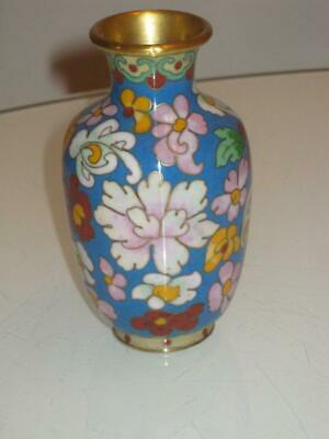 Stunning Antique Chinese Cloisonne Vase