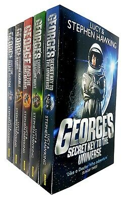 Stephen & Lucy Hawking's George's Secret Key to the Universe series 5 books Set