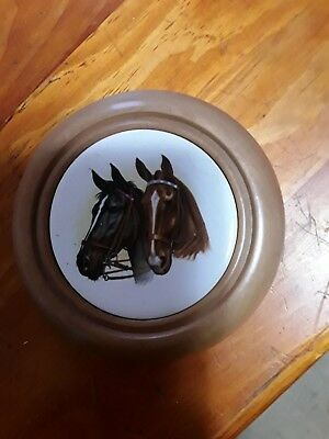 Myrtel horse wall hanging ...made in tasmania...