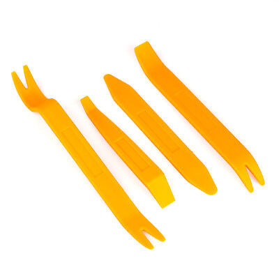 4pcs Tools Auto Car Radio Door Clip Panel Trim Dash Audio Removal Installer Pry