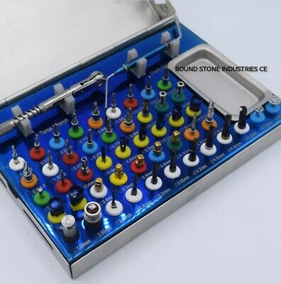 Universal Dental Implant Kit Bone Expander Compression Conical Drills 50 PCS CE