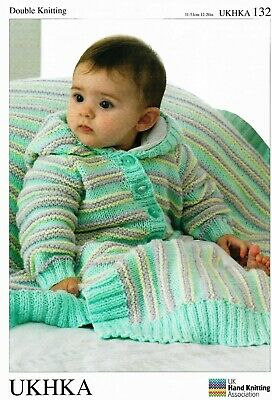 031956a4a857 UKHKA 173 BABY Hooded Cardigan And Round Neck Cardigan Knitting ...