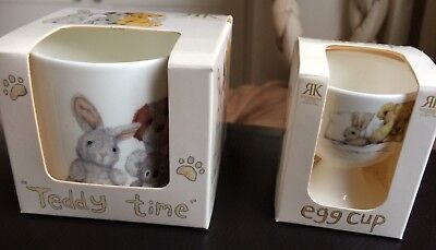 Roy Kirkham Baby Cup And Egg Cup Gift Set BNIB