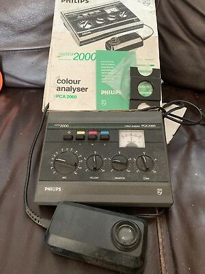 Philips Colour Analyser PCA 2060 System 2000 Original Box