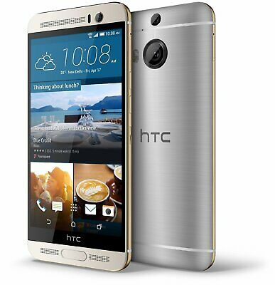 "New in Box HTC One M9 Plus M9+ 5.2"" 32GB Gunmetal Gray Dolby Surround Smartphone"