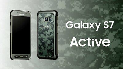 New in Sealed Box Samsung S7 ACTIVE 32/64GB G891A AT&T Unlocked Smartphone
