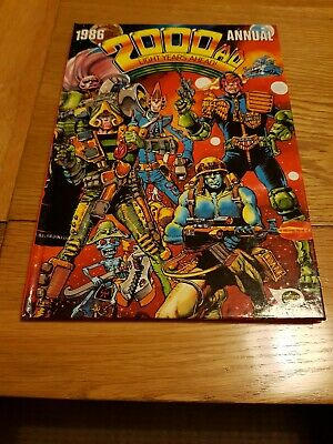 2000AD Annual 1986 - Very Good Condition