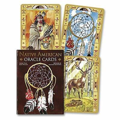 Native American Spirituality Oracle Cards Lo Scarabeo (Corporate Author)/ Rotund