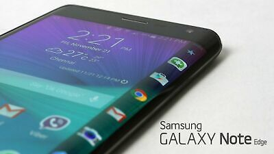"New in Box Samsung Galaxy Note Edge N915F 5.7"" Unlocked Smartphone/White/32GB"