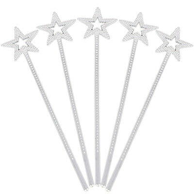 24pcs Star Magic Wand Star Fairy Stick Angel Fairy Wands for Cosplay Birthday