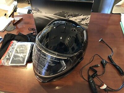 skidoo oxygen helmet Xl Black w/Light NO RESERVE!