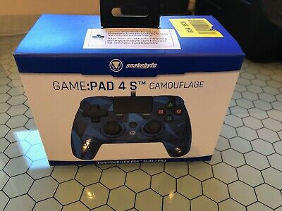 Snakebyte Game : Pad 4 S - CAMOUFLAGE PS4  Playstation 4 Controller