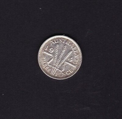 1943M Threepence George VI