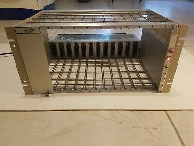 EG&G Ortec 4001A 12-Slot NIM BIN Chassis with 4002A Power Supply 4001AJ 4002AJ