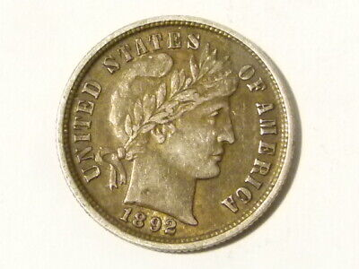 1892 One Dime United States America Silver Coin  #D23