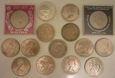 Job Lot Of 15 Commemorative Coins
