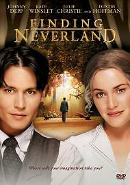 Finding Neverland (DVD, 2005) New And Sealed Free 1st Class Postage