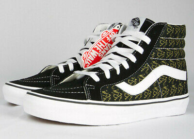 8ba8c8737f Sick of it All! Vans Sk8 High Top Skateboard Shoes SIZE 8 - Limited edition