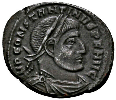 CONSTANTINE THE GREAT (315 AD) AE Follis. Rome #MA 1595