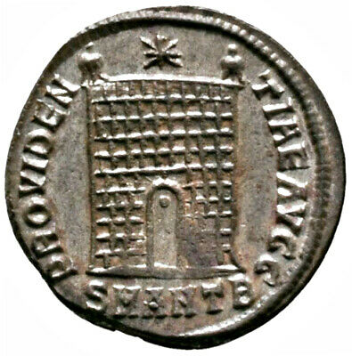 CONSTANTINE THE GREAT (334 AD) Very Rare Follis. Antioch #IU 1606