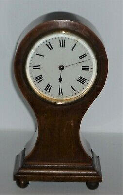 Antique Balloon Shaped Mantle Clock