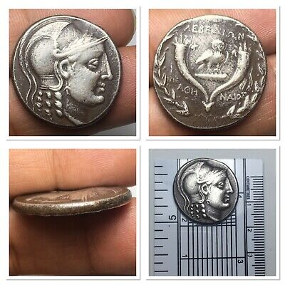 Amazing Rare Greek old silver coin