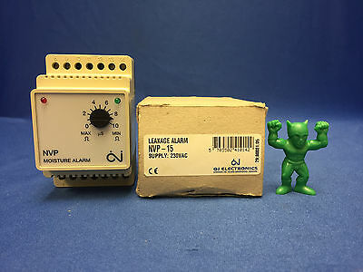 NVP-15 Moisture and Leakage Alarm, Supply voltage 230V AC, 10A relay